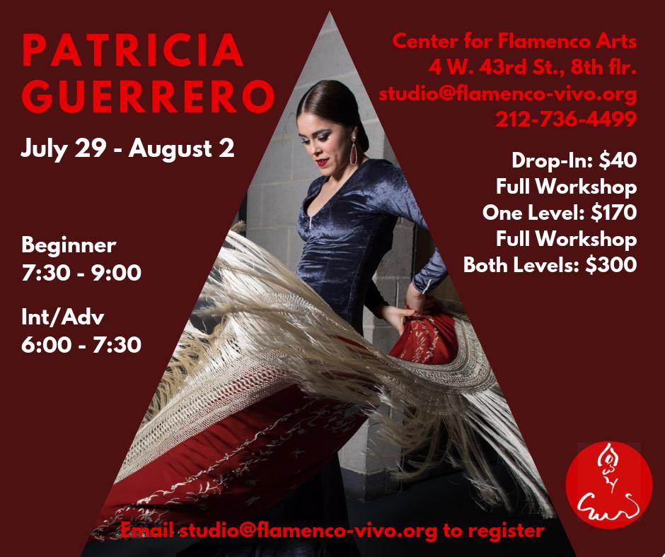 Patricia Guerrero Workshop