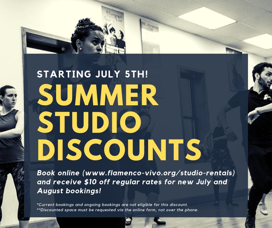 Summer Studio Discount